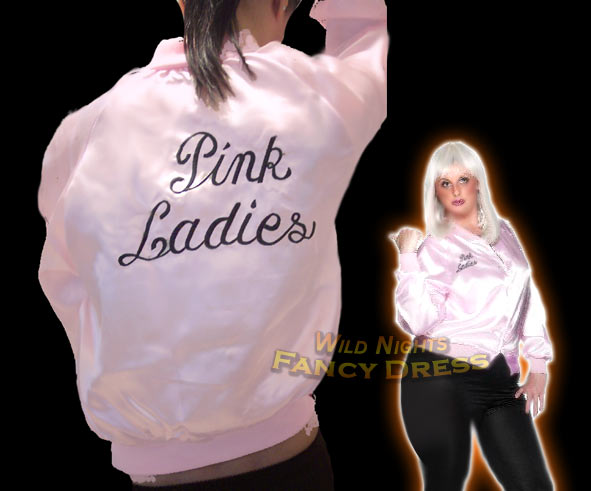 Pink ladies fancy dress plus size - Dressed for less