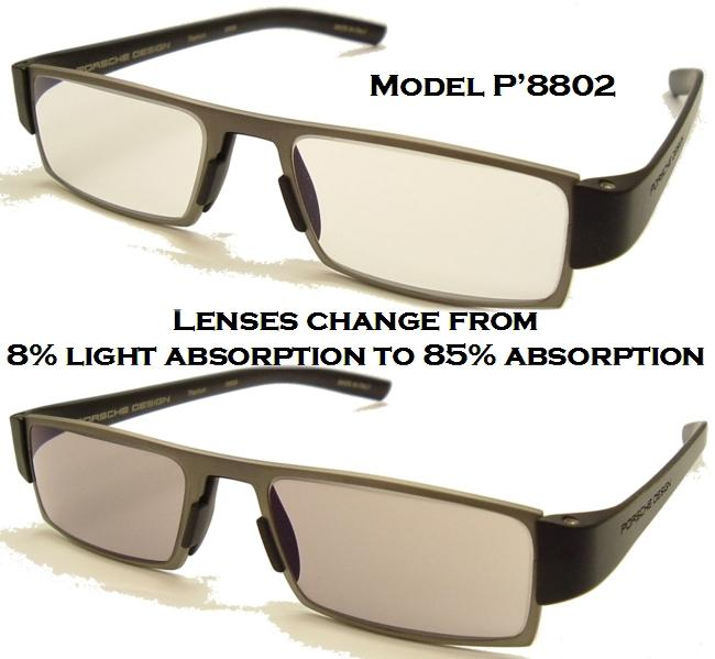 1ddd22659ce Porsche Design +1.50 Reading Tool with Lightweight PHOTOCHROMIC Lenses